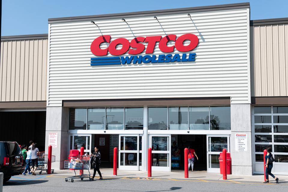 Costco store in Teterboro, New Jersey...