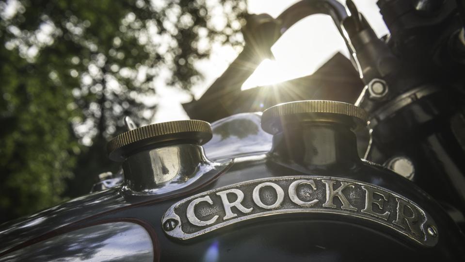 Crocker motorcycle restored
