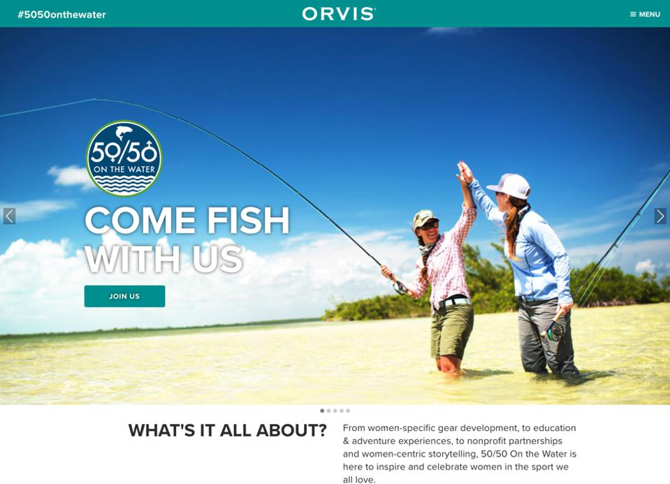 Orvis 50/50 On the Water