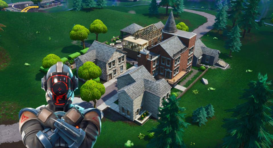 Fortnite Where To Find The Starry Suburbs Visitor Tape