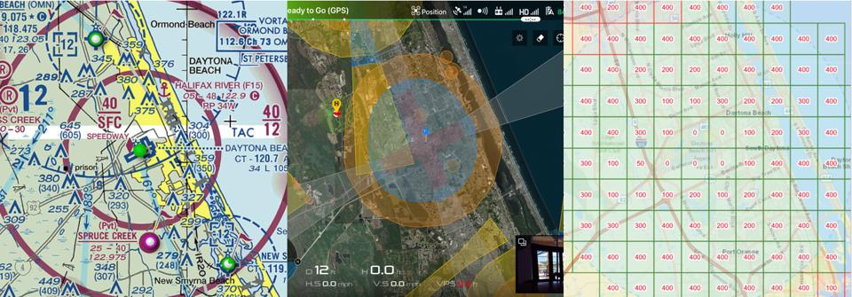 Aviation maps and app