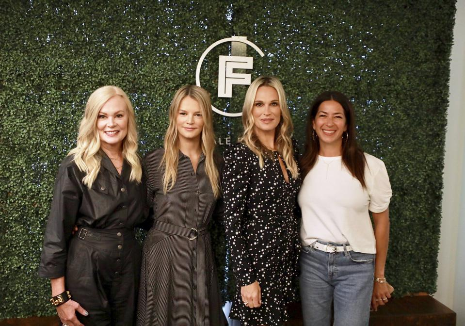 Mary Ann Reilly, Visa; Kelly Sawyer Patricof, Baby2Baby; Molly Sims; Rebecca Minkoff