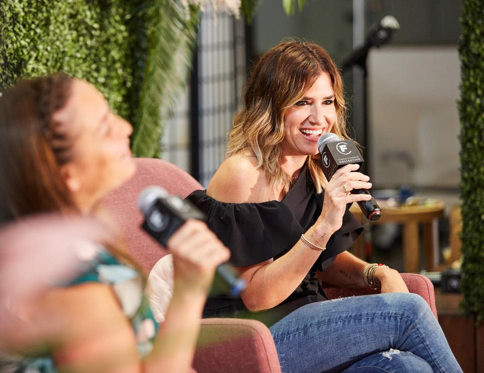 Amy Nelson, cofounder & CEO of The Riveter talked avoiding burnout with Drybar's Alli Webb
