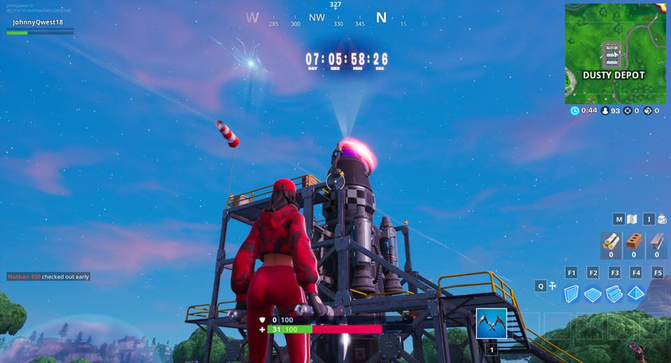 What Happens At The End Of Fortnite's New Countdown Timer?