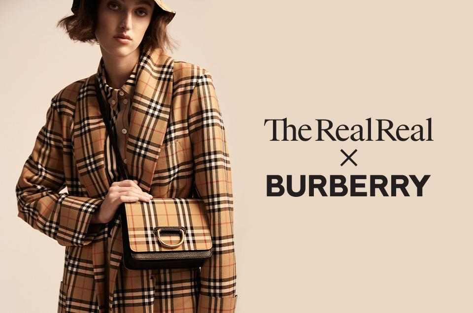 What Is Really Driving The RealReal's New Partnership With Burberry
