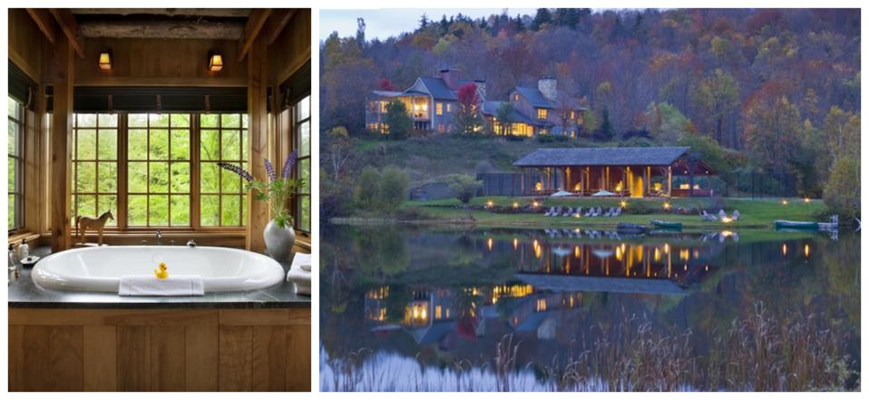 cozy cabin hotels