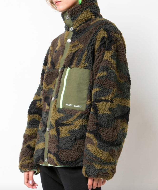 SANDY LIANG Rory fleece jacket