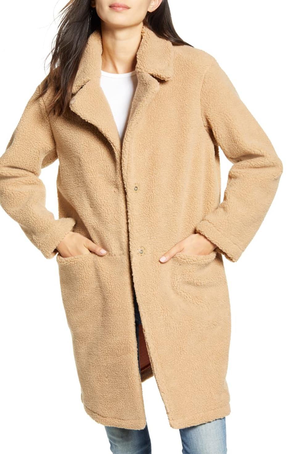 SCOTCH & SODA Teddy Coat