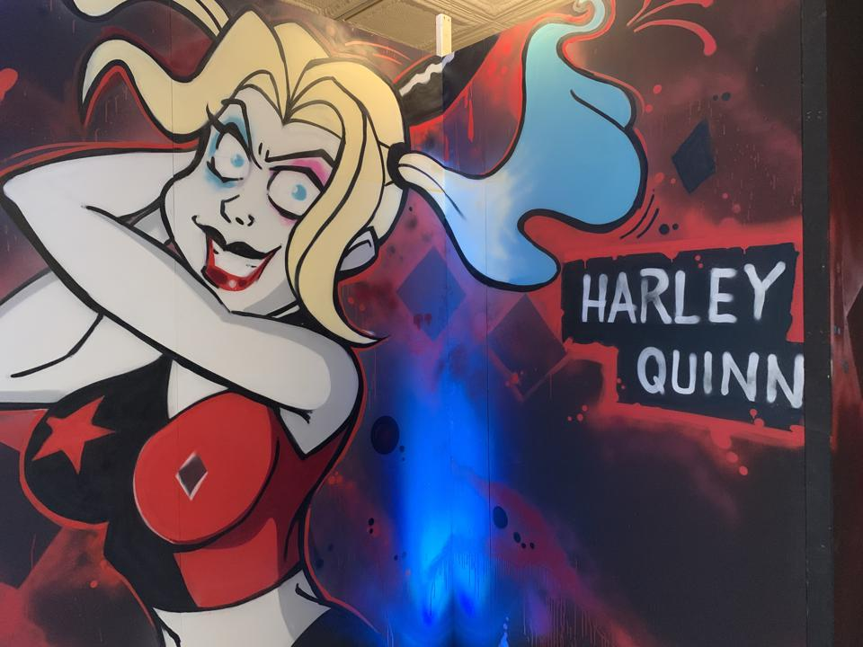 Harley Quinn Exhibit, DC Universe, NYCC 2019