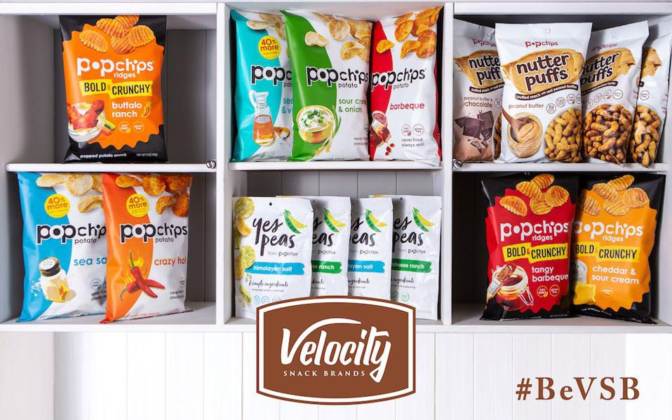 popchips has nearly 90% brand awareness in the market.