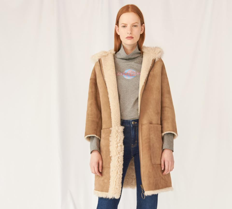 The Best Shearling and Teddy Bear Coats of 2019