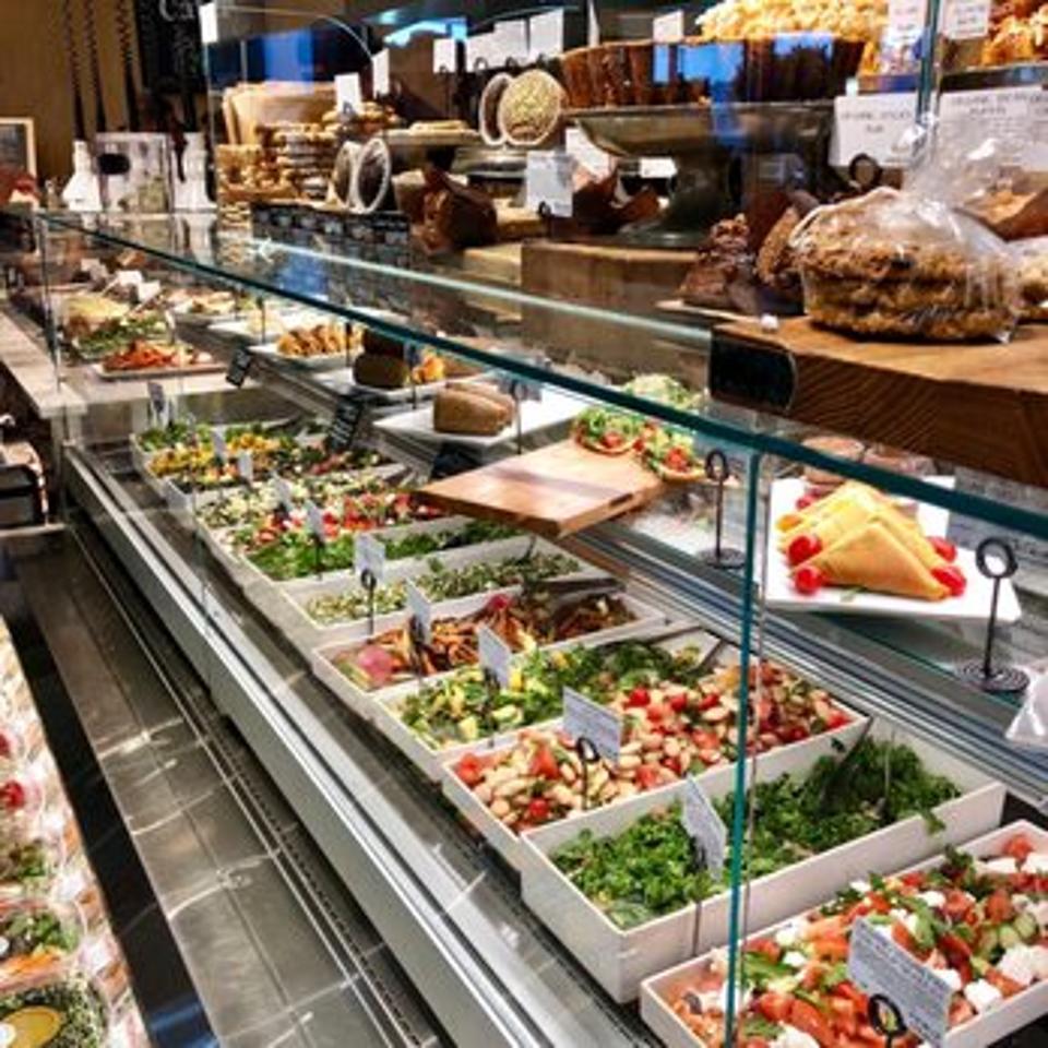 Prepared food sales make up more than 40% of sales.
