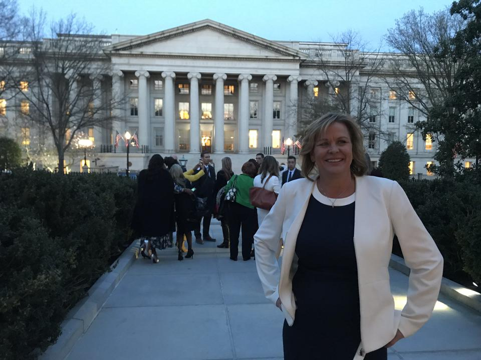 Michelle Cirocco at the White House