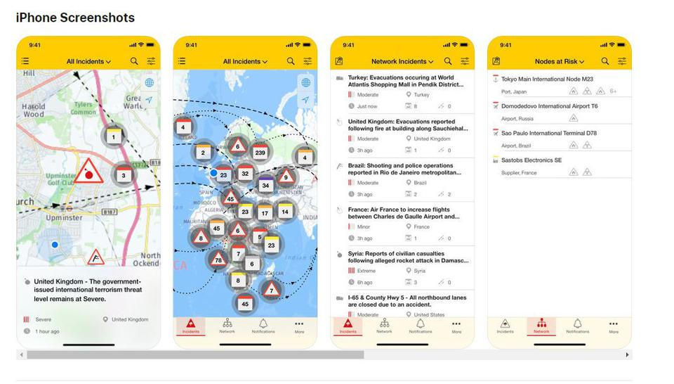 Resillience360 mobile app