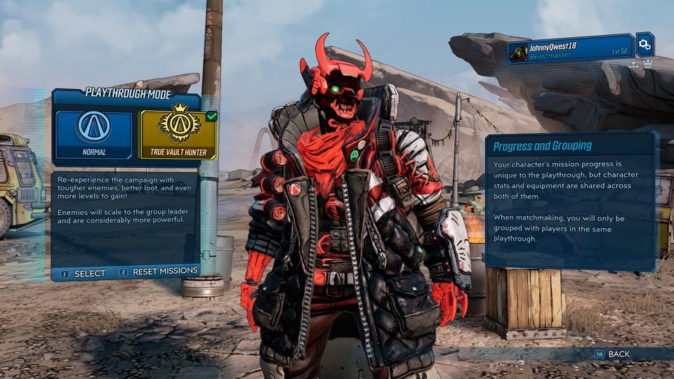 Wait, 'Borderlands 3' Console Players Can't Access Mayhem In True Vault Hunter Mode?
