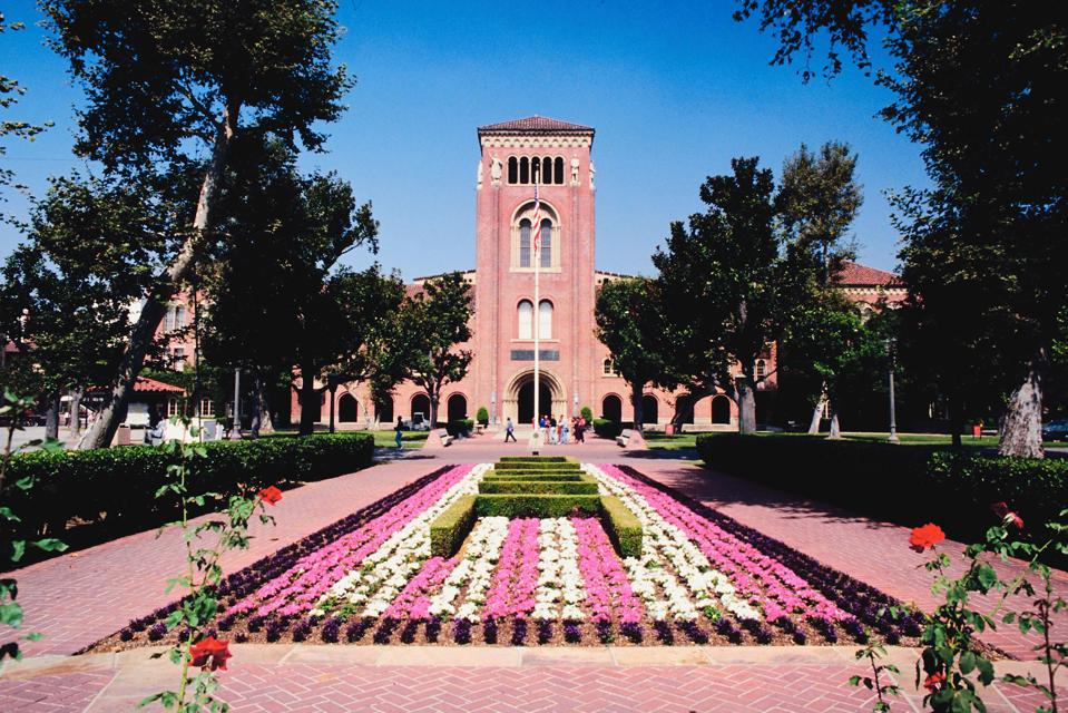 University of Southern California campus.