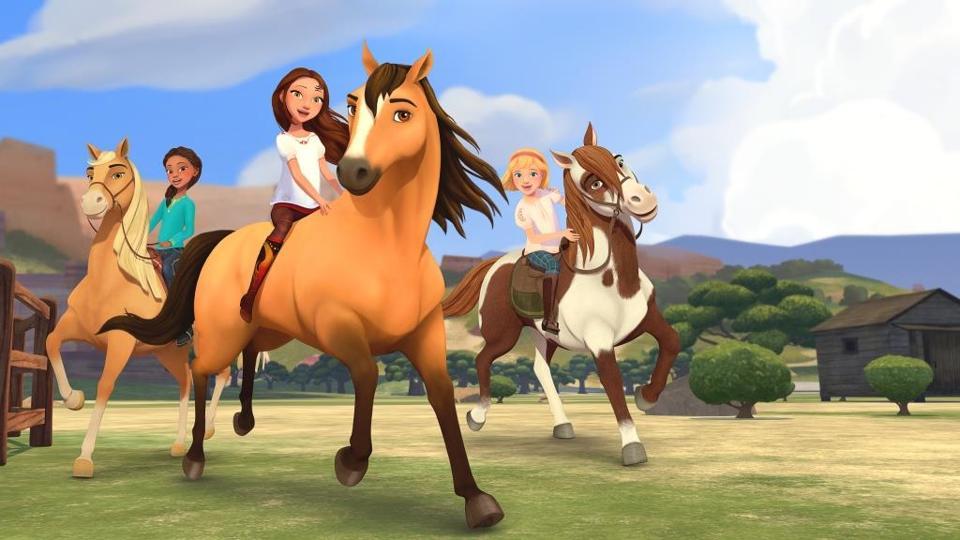 'Spirit Riding Free'