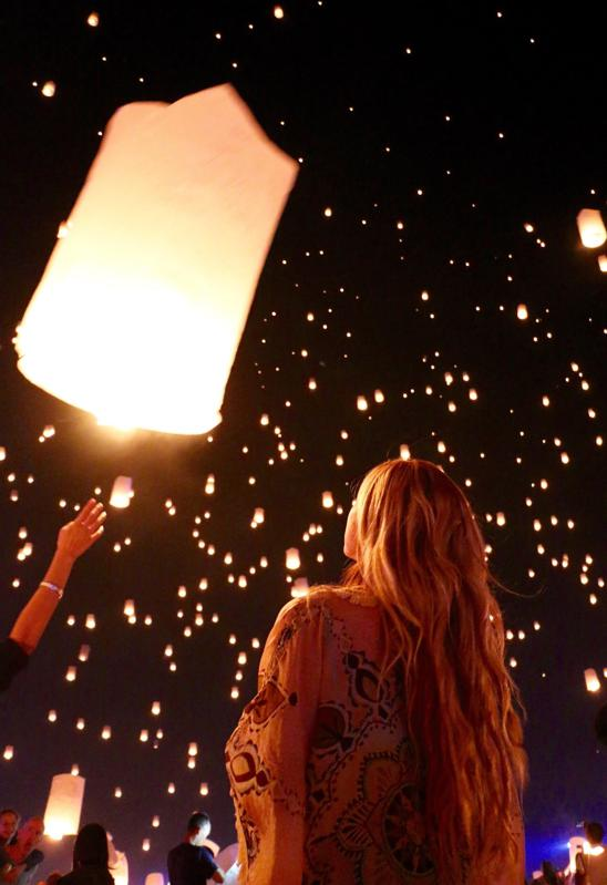An Illuminating Floating Field Of Dreams At The World's Largest Lantern Event