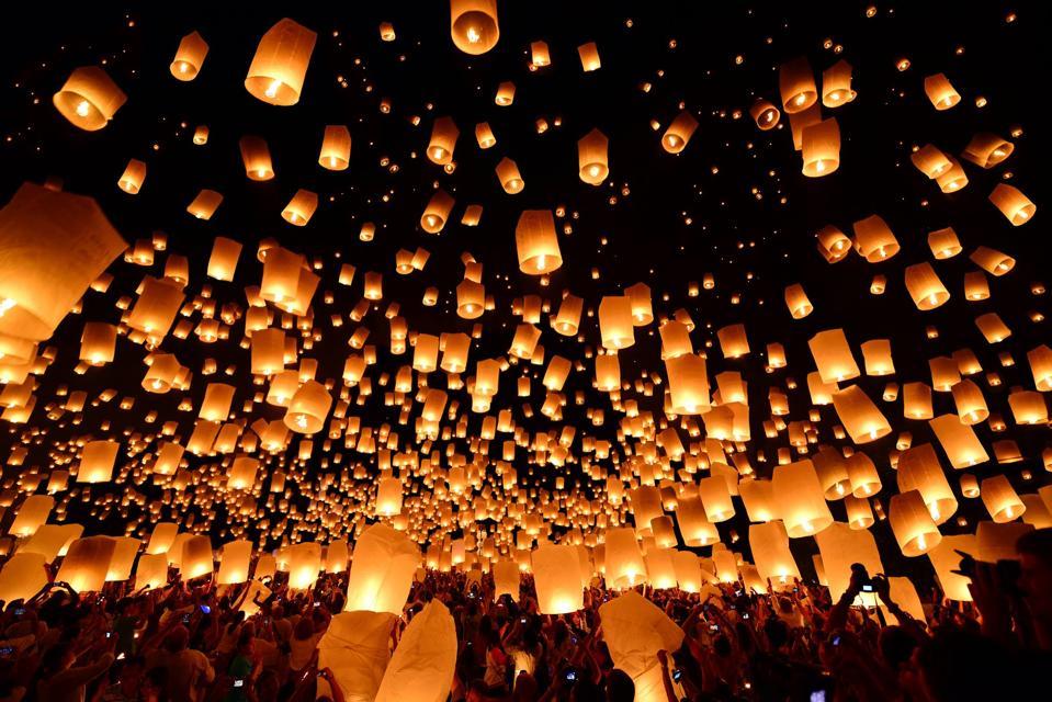 festival, las vegas, lights, night
