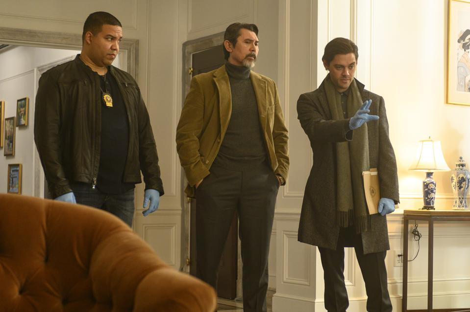 Frank Harts, Lou Diamond Phillips and Tom Payne in 'Prodigal Son.'