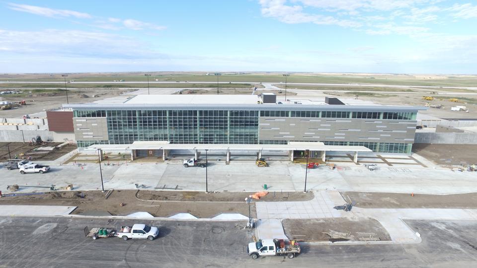 Williston International Airport is the newest U.S. airport