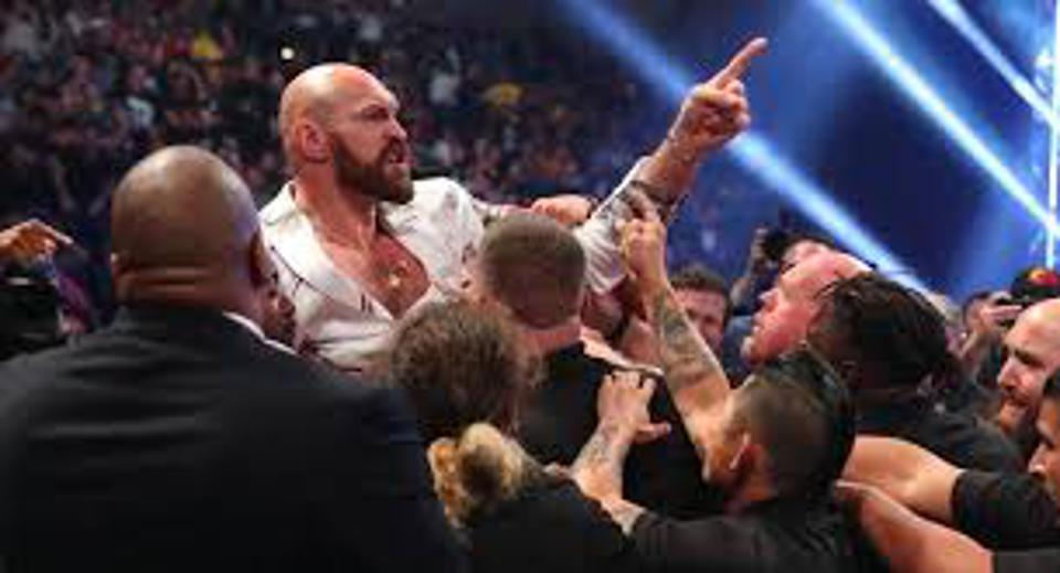 WWE Raw Results: News And Notes After Tyson Fury And Braun Strowman's Wildly Entertaining Brawl