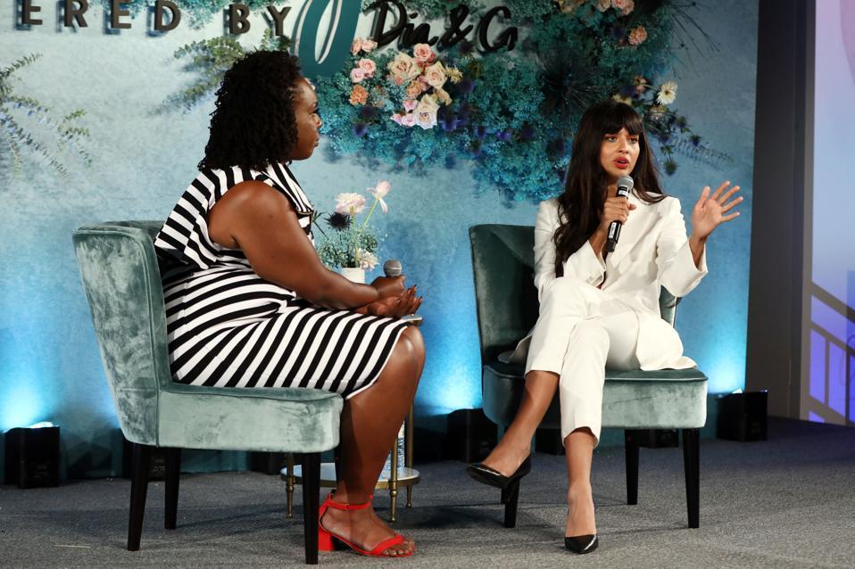 Onstage conversation of Jameela Jamil at The Curvy Con.