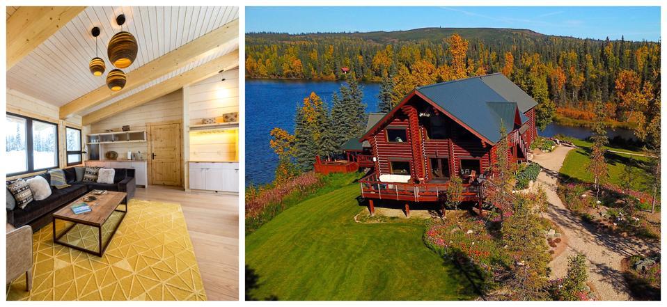 cozy log cabin hotels