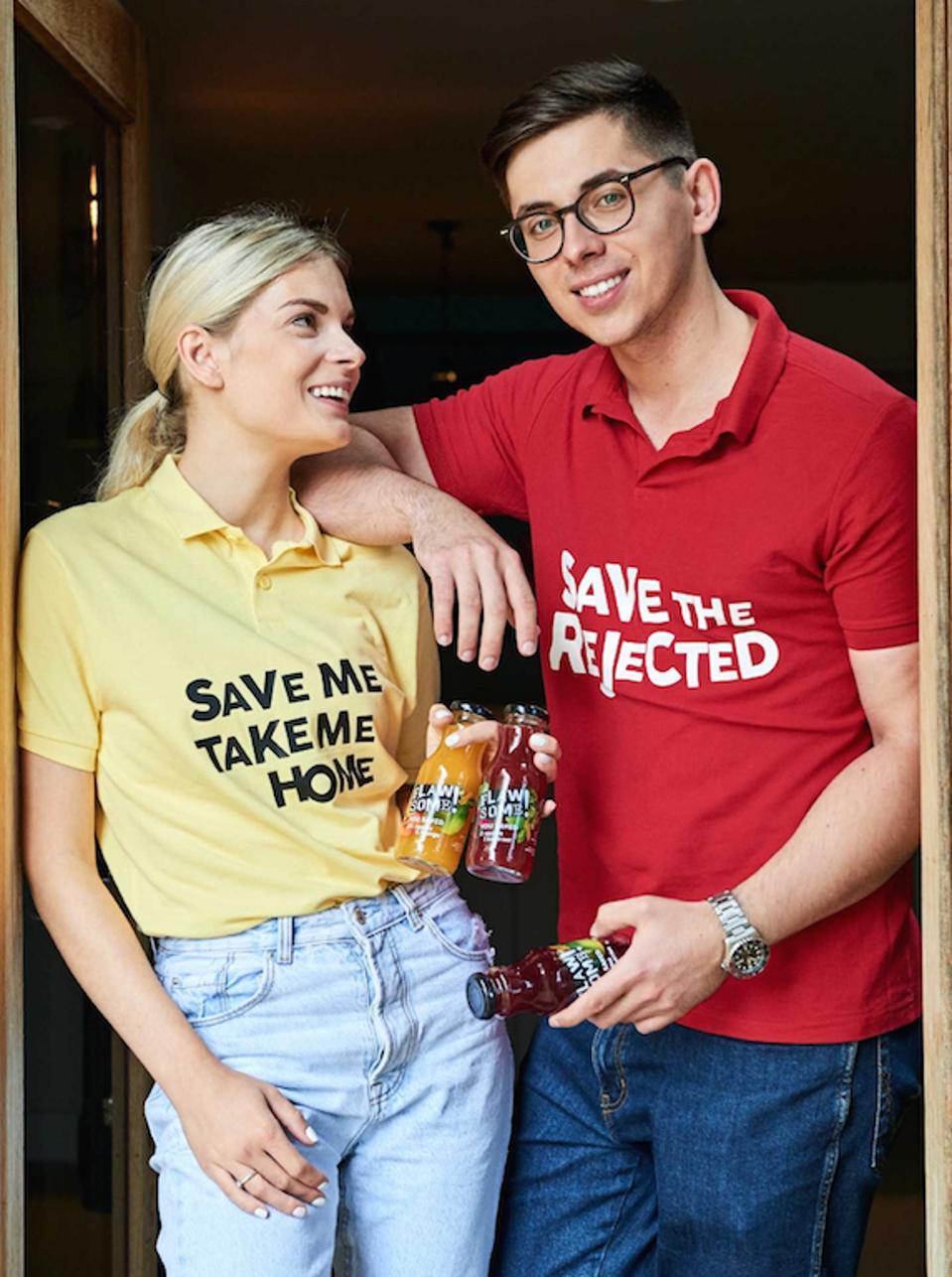 Flawsome! founders Maciek Kacprzyk and Karina Sudenyte