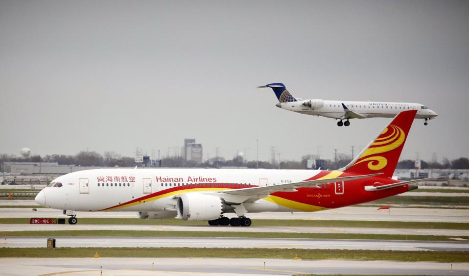 U.S.-CHICAGO-CHINA-BIOFUEL FLIGHT