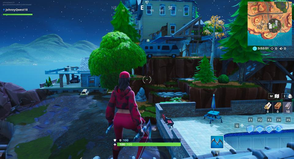 Fortnite Where To Find The Floating Island Visitor Tape