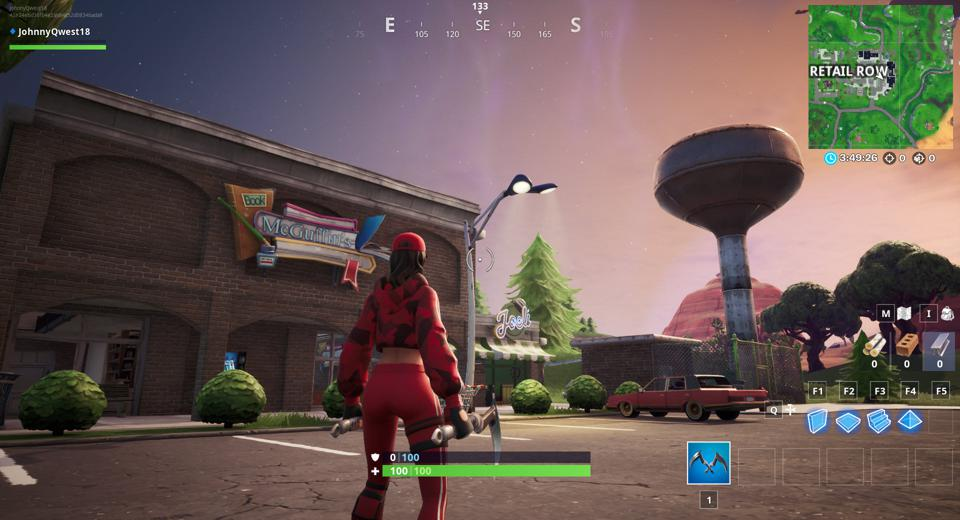 Fortnite Where To Find The Retail Row Visitor Tape Location
