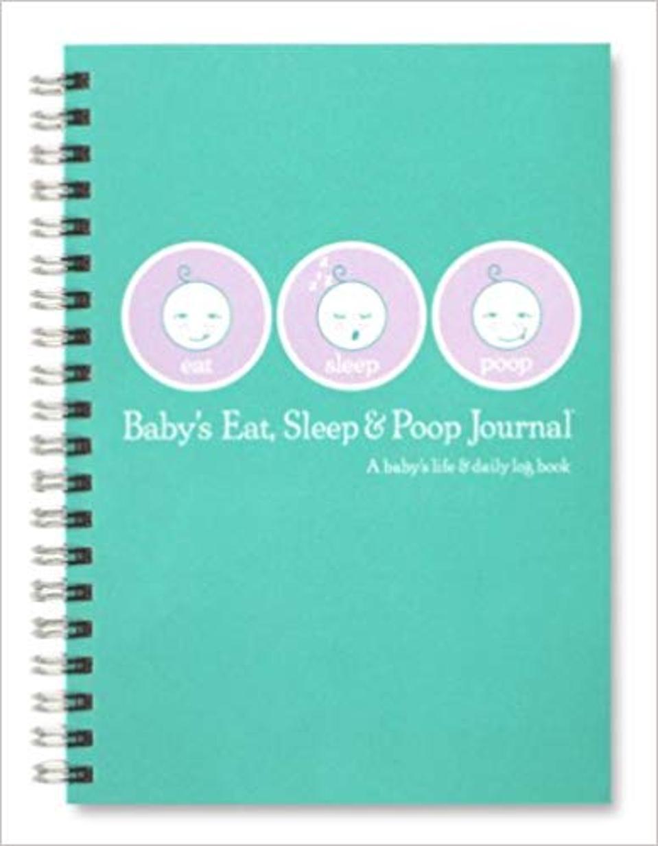 Baby's Eat, Sleep & Poop Journal, Log Book