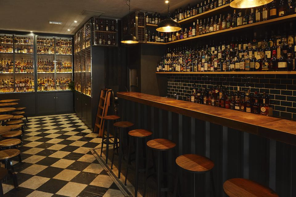Milroys whisky bar