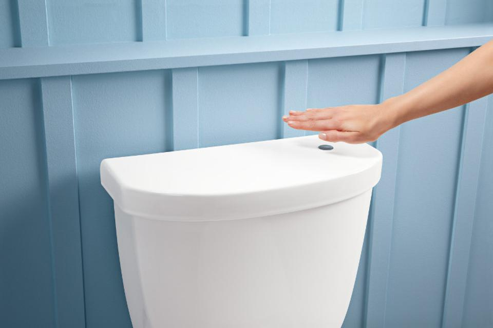 Touchless toilet from Kohler