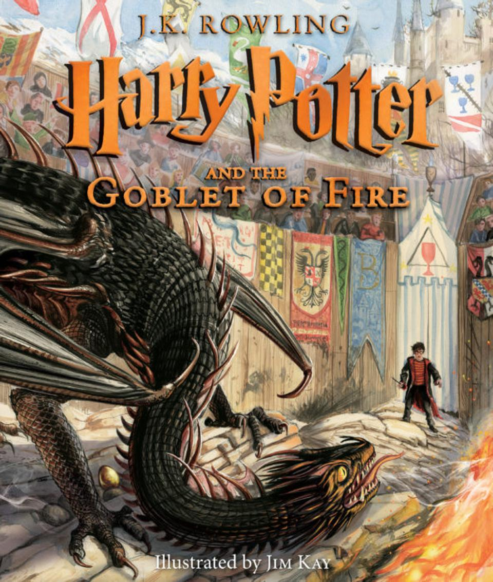 'Harry Potter and the Goblet of Fire' Illustrated Edition Reaches Best Seller Charts on Publication Day