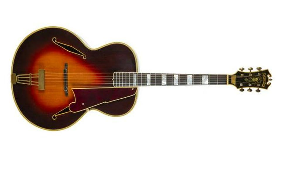 Walter Becker's Excel model archtop guitar
