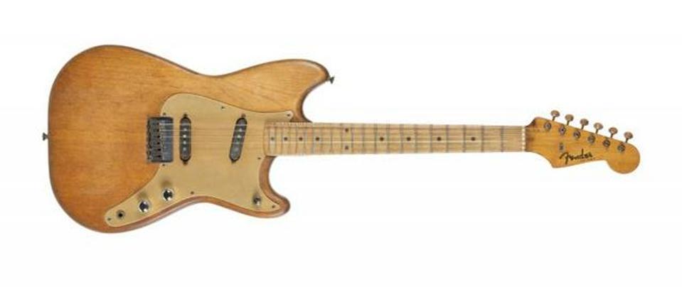 Walter Becker's Fender Duo-Sonic electric guitar