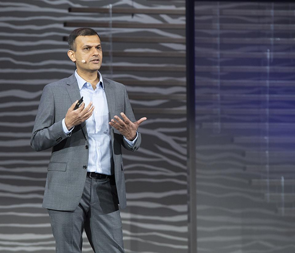 T.K. Anand, Oracle senior vice president of analytics, told an Oracle OpenWorld crowd that the company's new approach to analytics lets finance pros take action, without asking IT for help.