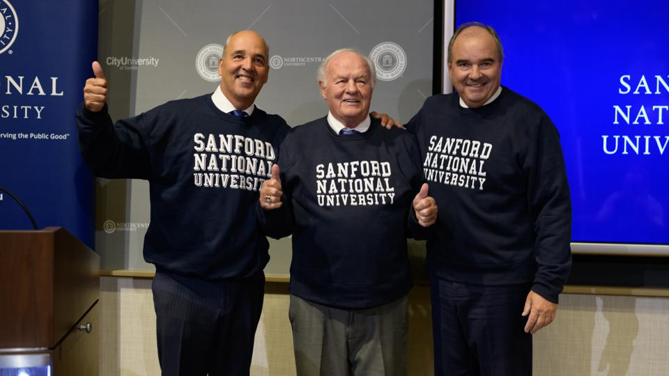 T. Denny Sanford Gives $350 Million To National University, To Be Renamed In His Honor
