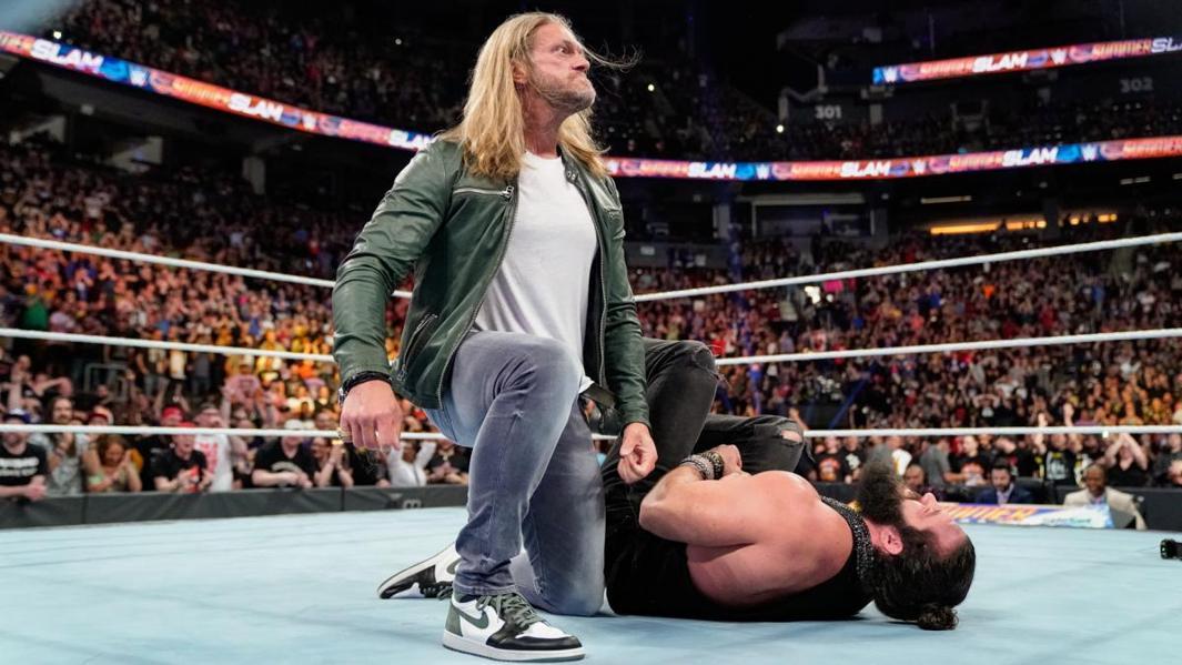 Edge Return Rumors Heat Up Ahead Of WWE's Multimillion-Dollar Crown Jewel PPV In Saudi Arabia