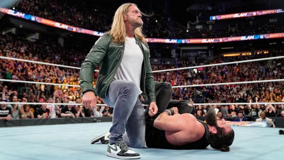 WWE Edge Elias SummerSlam 2019