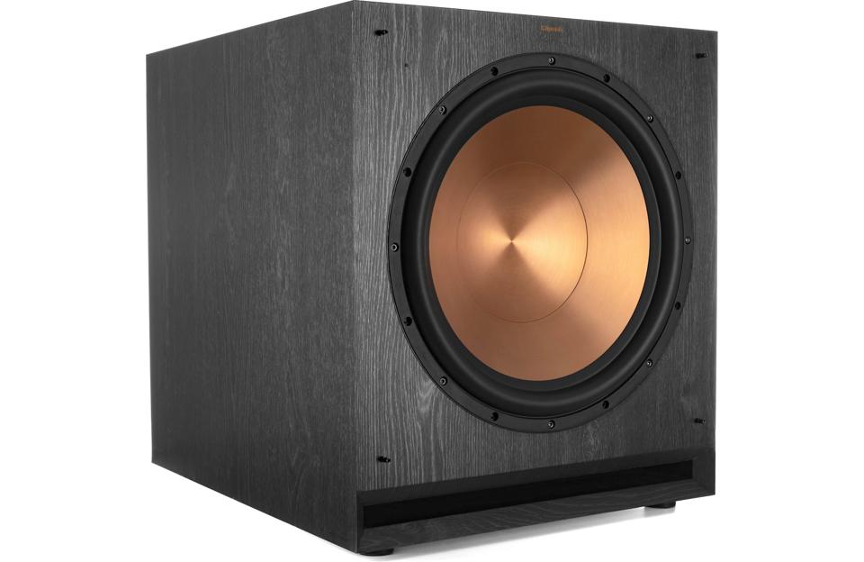 The Klipsch SPL-150 is a perfect addition to a musical audio system.