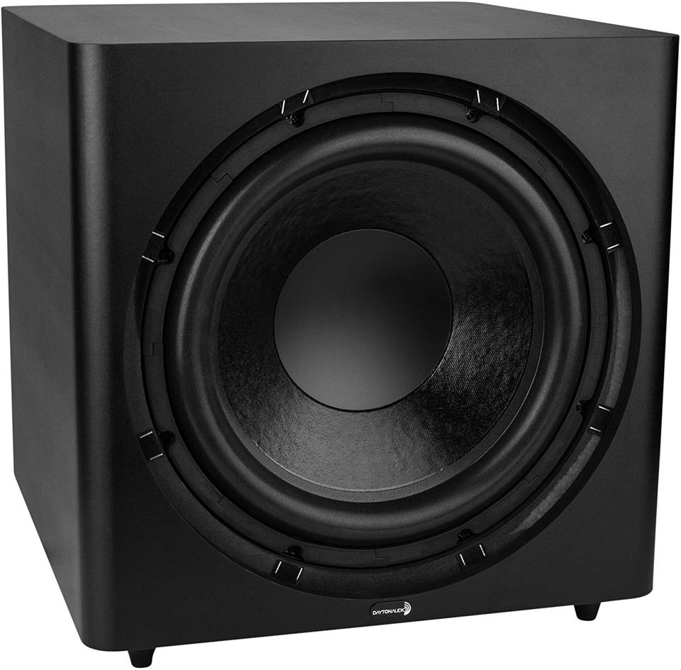 The Dayton Audio SUB-1500 is a great choice if you want to add a subwoofer to an existing audio system.