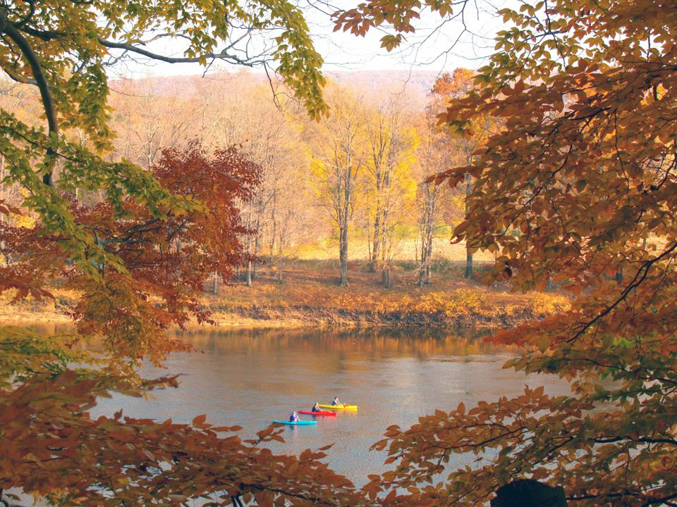 Pocono Mountains are world famous for their fall foliage.
