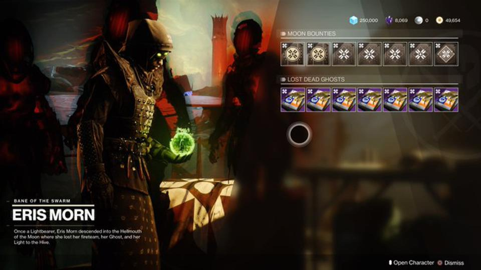 The 'Destiny 2' Season Rank Grind: Here's How Much XP Every Bounty Gives