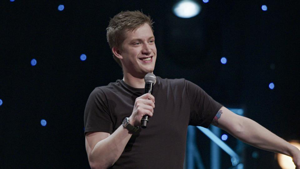 Daniel Sloss performs in 'X' on HBO.