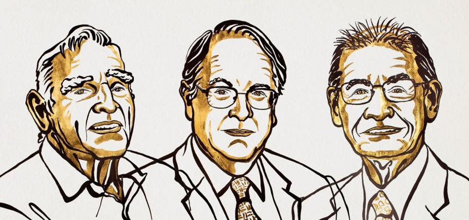The 2019 Nobel Laureates in Chemistry.