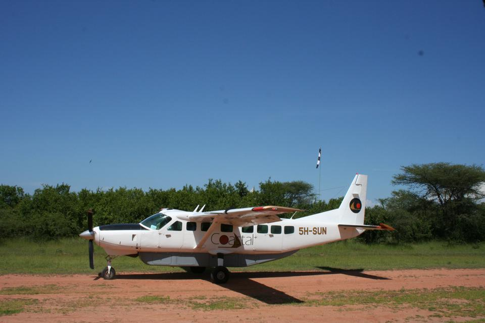 Africa. Bush plane.