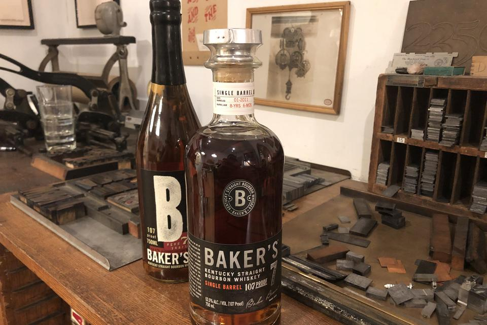 The old Baker's bottle, left, and the new bottle, right.